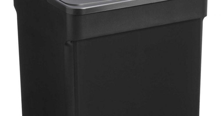 Opbergbox Met Deksel Zwart 32 Liter