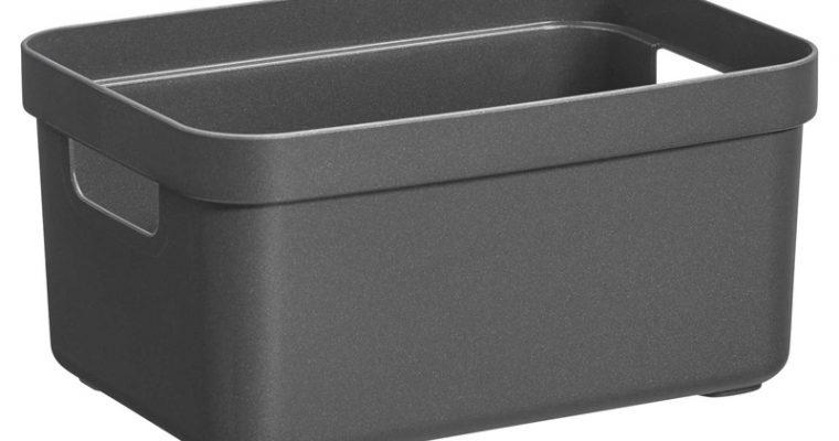 Opbergbox Sigma Antraciet 5 Liter