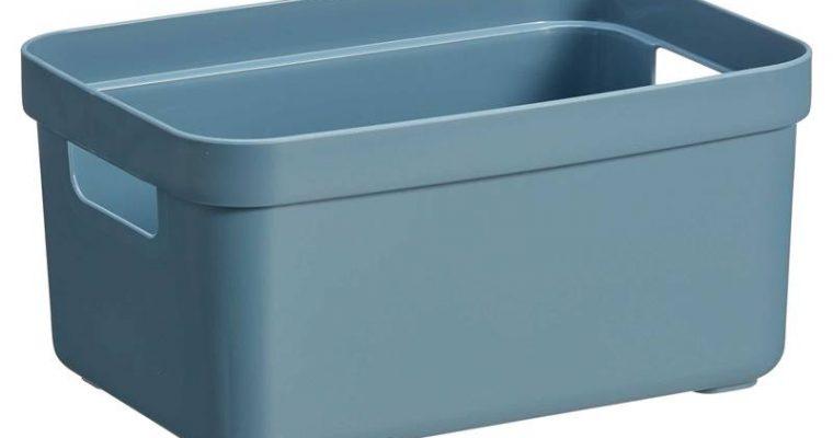 Opbergbox Sigma Donkerblauw 13 Liter