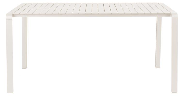 Zuiver Vondel Tuintafel – L168 X B87 X H75 Cm – Gepoedercoat Aluminium – Clay Beige   8718548055551