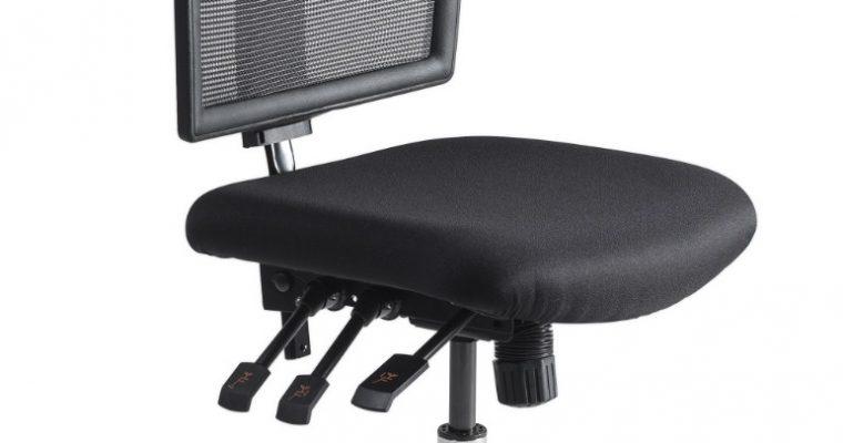 24Designs Bedrijfsstoel En Werkstoel Laag – Mesh Zwart – Zithoogte 48 – 63 Cm – Aluminium Onderstel | 8719874344029