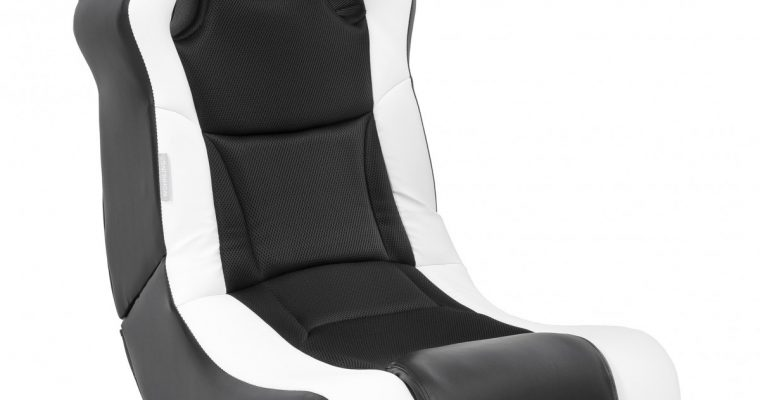 24Designs Racer – Racestoel Gamestoel – Bluetooth&Speakers – Zwart / Wit | 8719323478305