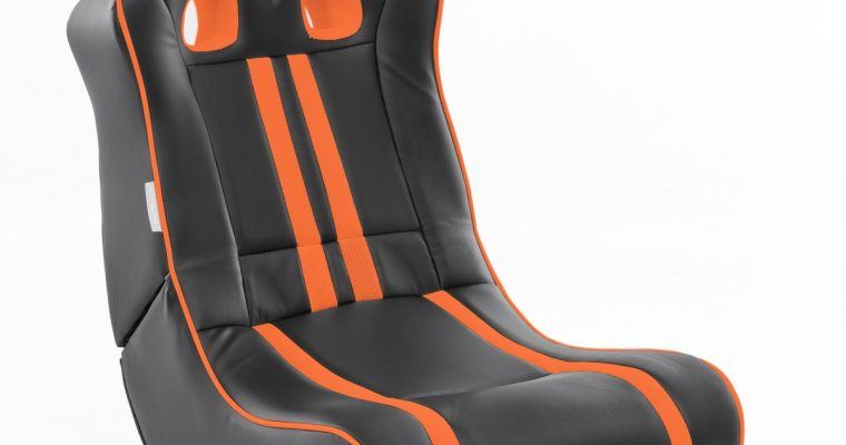24Designs Racestoel Gamestoel Monaco – Bluetooth&Speakers – Zwart / Oranje | 8719323478480