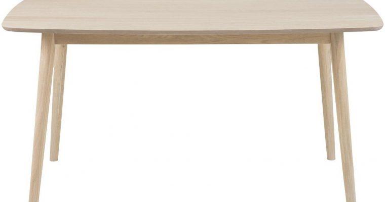 24Designs Tafel Sapporo – L150 X B80 X H75.5 – Eiken White Wash   8719323471801