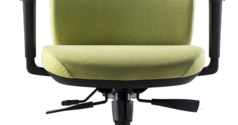24Designs Vesta ERGO-4 Ergonomische Bureaustoel EN1335 – Groene Stof – Zwart Onderstel | 8720289853242
