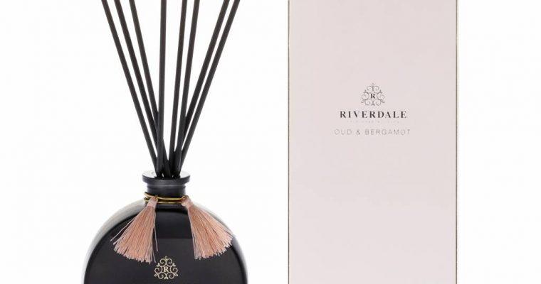 Riverdale Geurstokjes Boutique roze Oud & Bergamot 90ml   001985-18   Riverdale
