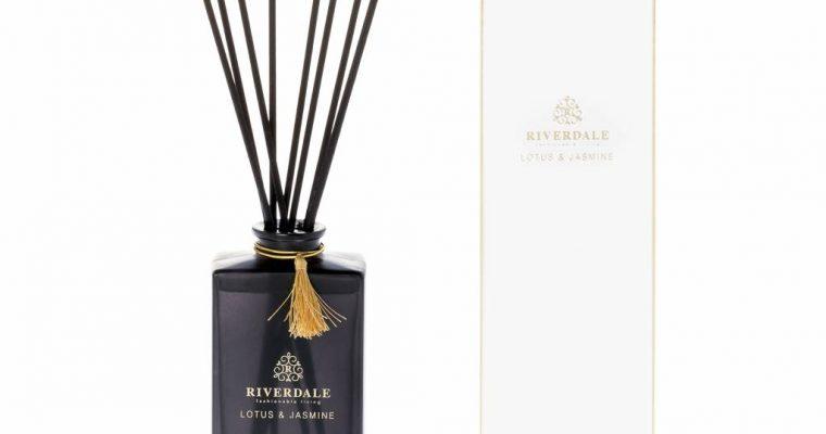 Riverdale Geurstokjes Elegance wit Lotus Jasmine 140ml   001982-18   Riverdale