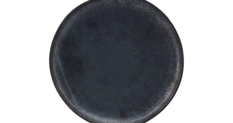 House Doctor Lunchbord Pion zwart 21,5cm | 206260204 | House Doctor