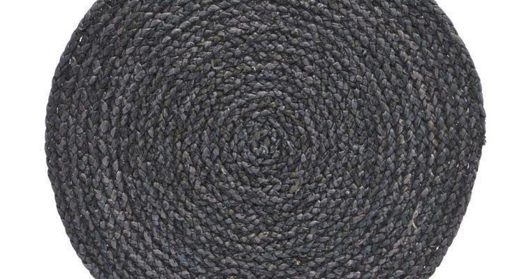 House Doctor Placemat Circle grijs / blauw – 4 stuks | 210990103 | House Doctor