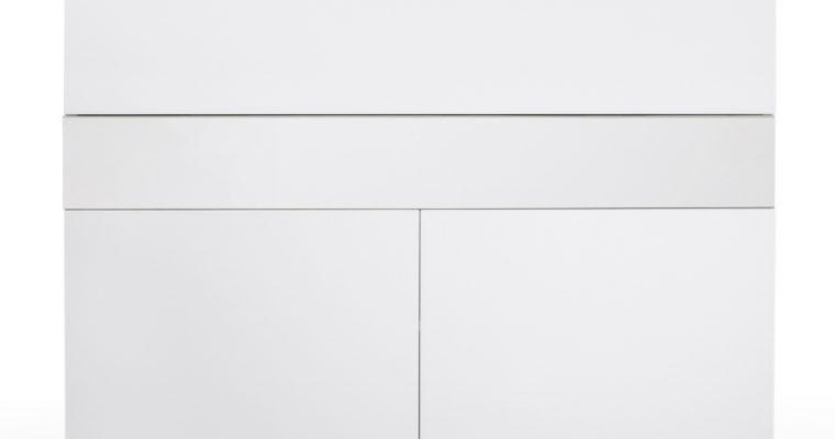 TemaHome Bureau Focus – L110 X B42 X H109 Cm – Mat Wit | 8720143248078
