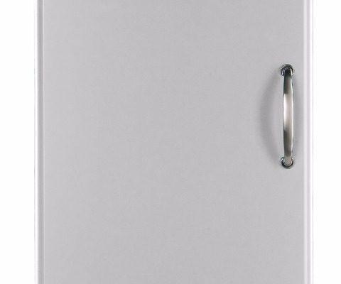 Tenzo Vitrinekast Malibu Small 1-Deurs – B50 X D41 X H143 – Aluminium | 7394084035809