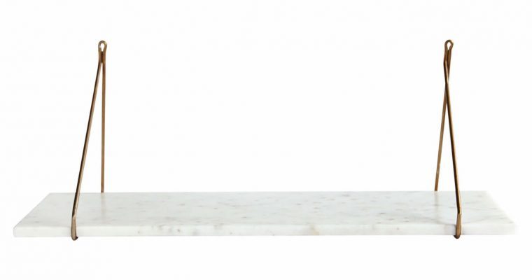 House Doctor Wandplank Marble wit marmer | 209780900 | House Doctor