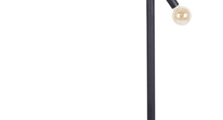 Zuiver Hawk Vloerlamp 3-Lichts – B10,5 X D63,5 X H160 Cm – Mat Zwart Metaal | 8718548055858