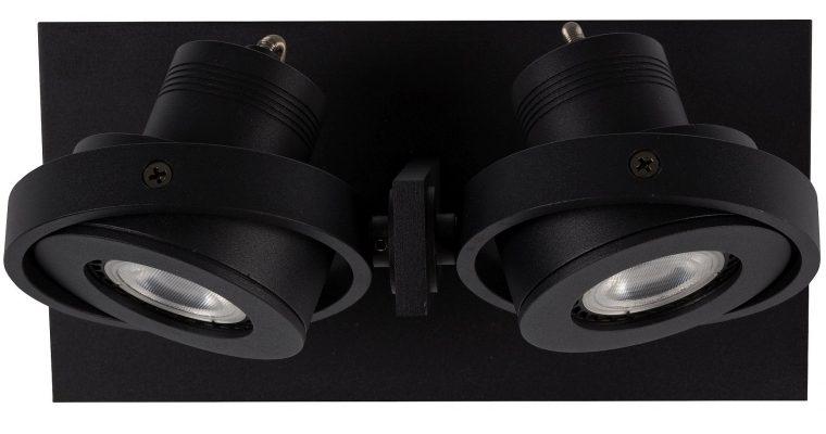 Zuiver Plafondspot Luci-2 Dim To Warm Dimbare LED – Zwart | 8718548048126