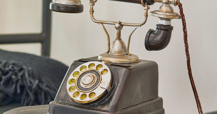Decoratietelefoon Upavon | 4250769251830 | LOBERON
