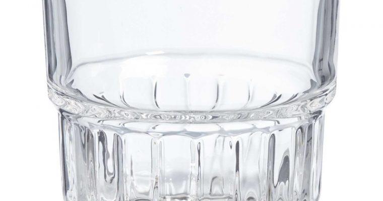 Drinkglas Stapelbaar Transparant