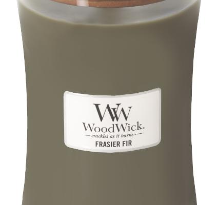 Woodwick Frasier Fir kaars groot   93175E   Woodwick