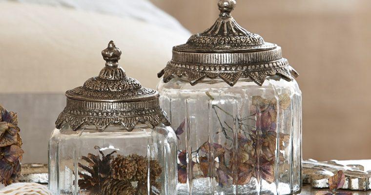 Glazen potten set van 2 Laféline | 4250769227293 | LOBERON