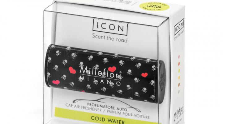 Millefiori Milano Icon car 03 Cold Water- Cuori E Fiori autoparfum | 16CAR03 | Millefiori Milano