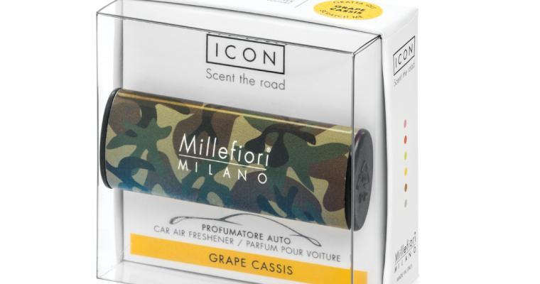 Millefiori Milano Icon car 24 Grape Cassis – Animal autoparfum | 16CAR24 | Millefiori Milano