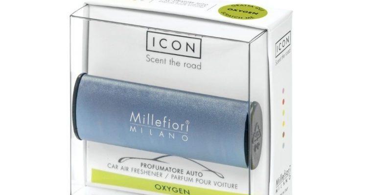 Millefiori Milano Icon car 54 Oxygen – Metallo autoparfum | 16CAR54 | Millefiori Milano