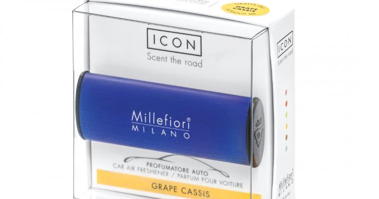 Millefiori Milano Icon car 61 Grape Cassis – Classic autoparfum | 16CAR61 | Millefiori Milano