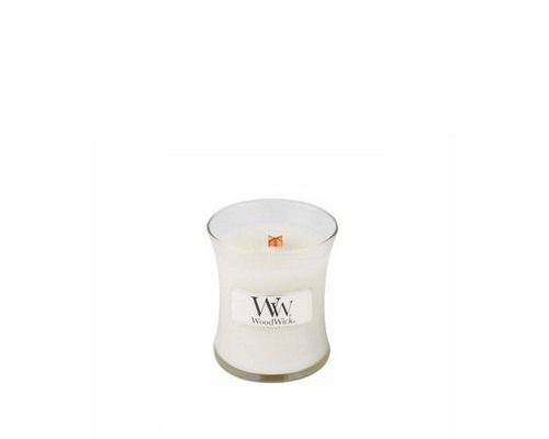 Woodwick Linen Mini Candle   98135E   Woodwick