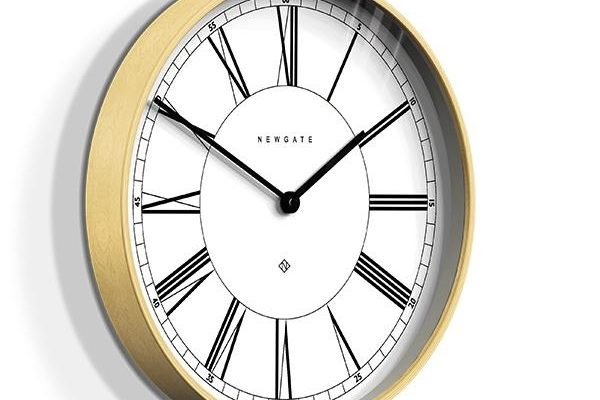 Newgate Mr Architect wandklok wit 41cm | MRA445PLY40 | Newgate