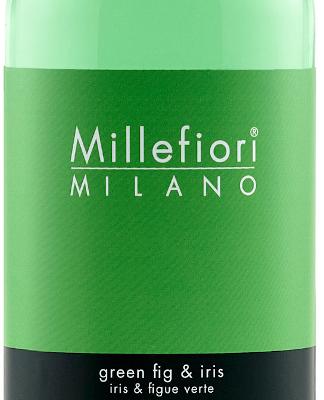 Millefiori Milano Navulling voor geurstokjes 500ml Green Fig & Iris | 7REGI | Millefiori Milano
