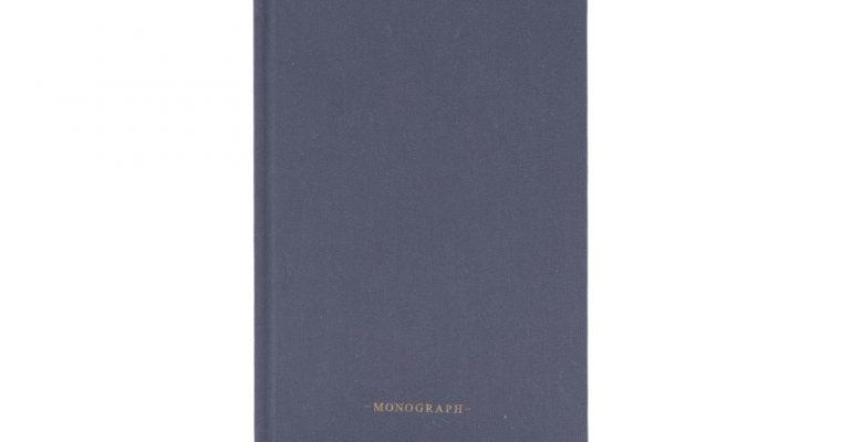 Monograph Notitieboek Blauw 20cm   mgsj0111   Monograph