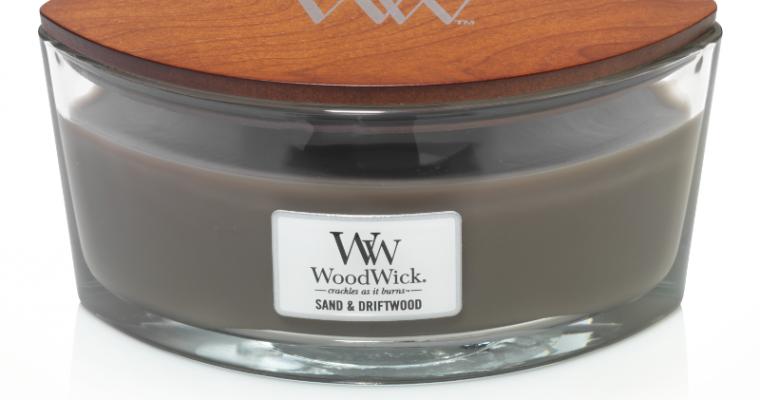 Woodwick Sand & Driftwood Hearthwick Ellipse Candle | 303106 | Woodwick