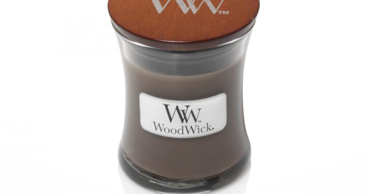 Woodwick Sand & Driftwood Mini Candle   303103   Woodwick