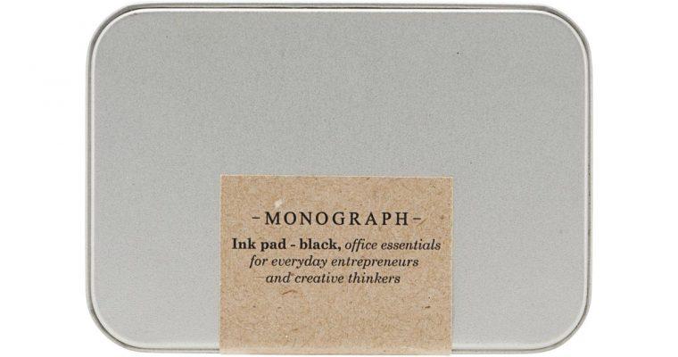 Monograph Stempelkussen Zwart   mgrp0100   Monograph