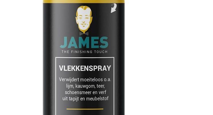James Vlekkenspray 200ml   2500   James