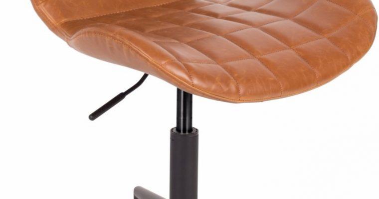 Zuiver Bureaustoel OMG LL – Zithoogte 44 – 56 Cm – Kunstleer Bruin | 8718548038554