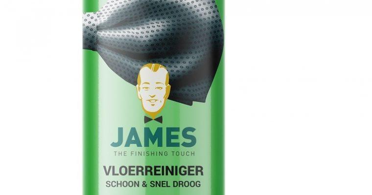 James vinyl & pvc reiniger schoon & snel droog stap D   8107   James