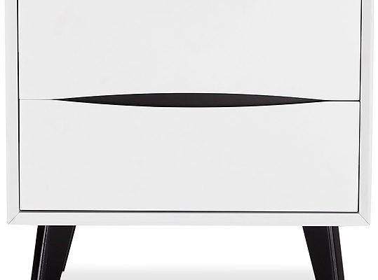 24Designs Lyon Ladekast Nachtkast – B58 X D40 X H55 Cm – MDF – Wit | 8720195956525