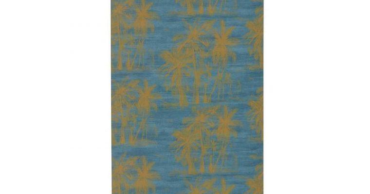 Behang Laura Blauw