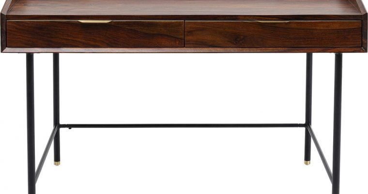 Kare Design Ravello Bureau – B118 X D70 X H83,5 Cm – Sheeshamhout | 4025621854593