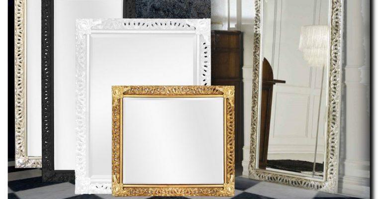 Ambachtelijke Barok spiegel Paola | Barokspiegel.nl