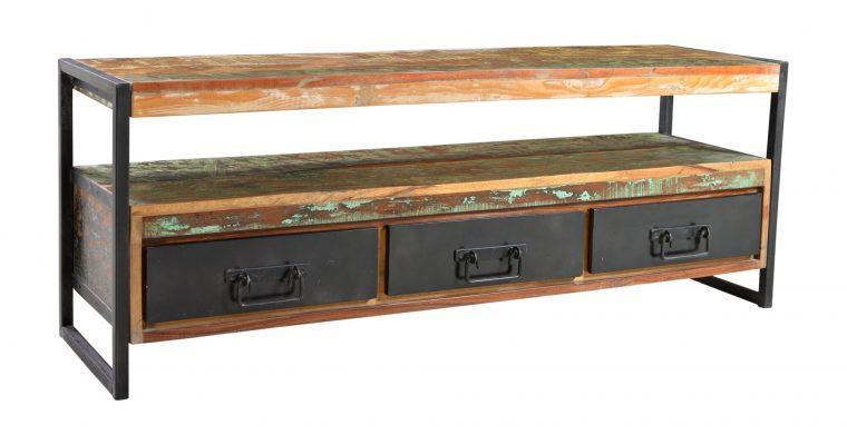 Artistiq TV-meubel 'Bali Vintage' multicolor, 155cm   4055195352102