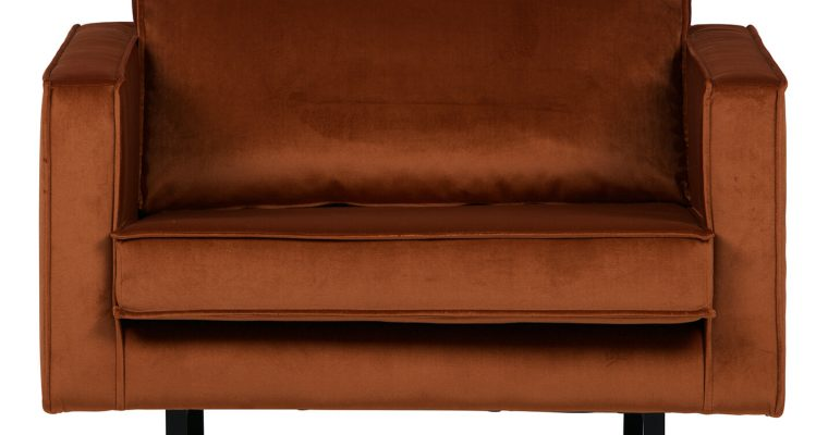 BePureHome Fauteuil 'Rodeo', kleur Roest   8714713070244