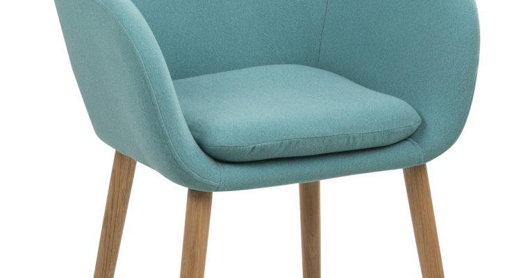 Bendt Eetkamerstoel 'Albin' kleur turquoise   5705994827828