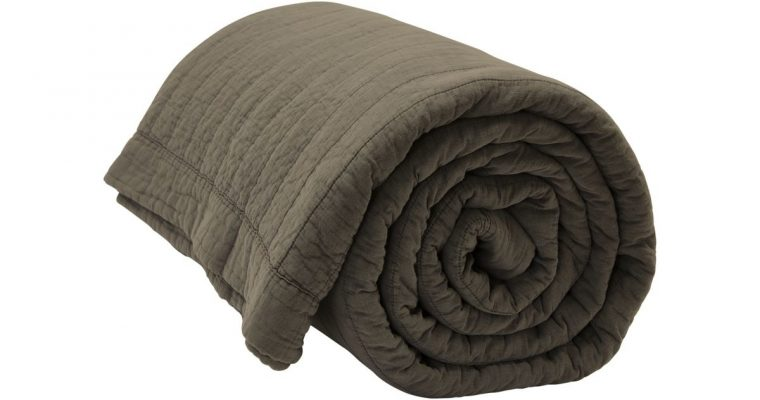 By Nord Bedsprei Magnhild Bark 280x280cm | 561137076 | By Nord