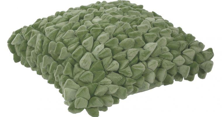 Haans Lifestyle Kussen Pebble olijf groen   255-620-186   Haans Lifestyle