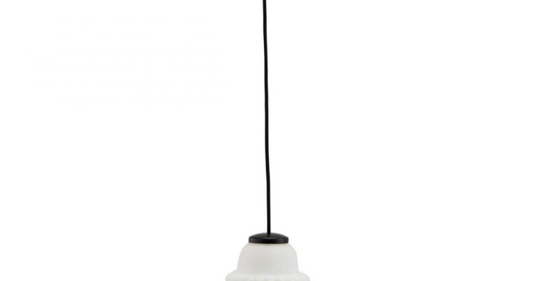 House Doctor Hanglamp Acorn wit 14cm | 203970141 | House Doctor