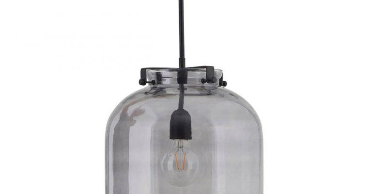 House Doctor Hanglamp Ball grijs 30cm | 203970121 | House Doctor