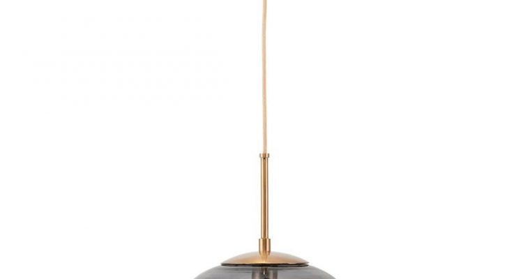House Doctor Hanglamp Opal grijs 22cm | 203970117 | House Doctor
