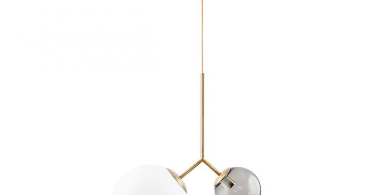 House Doctor Hanglamp Twice grijs 47cm | 203970106 | House Doctor