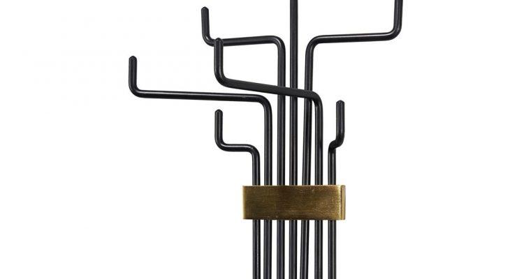 House Doctor Kapstok pipes zwart | 203661221 | House Doctor